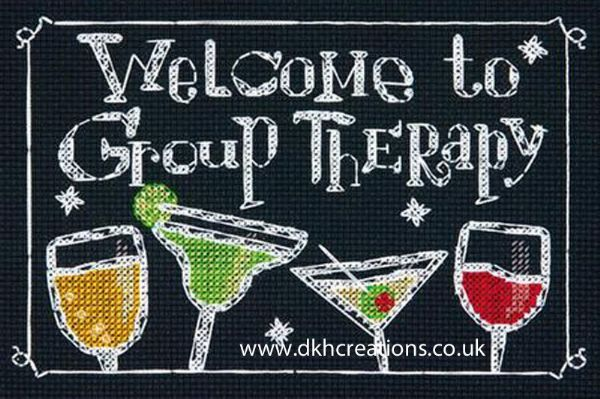 Group Therapy Cross Stitch Kit